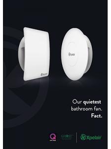 Xpelair brochure Simply Silent Contour