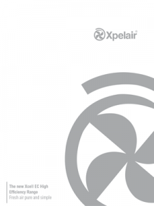 Xpelair brochure XCELL